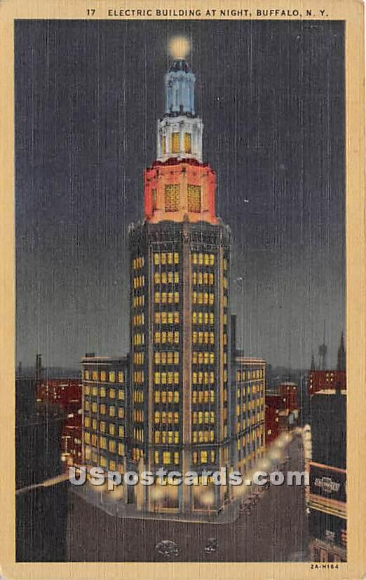 Electric Building - Buffalo, New York NY Postcard