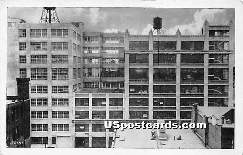 Watchtower Printing Plant - Brooklyn, New York NY Postcard