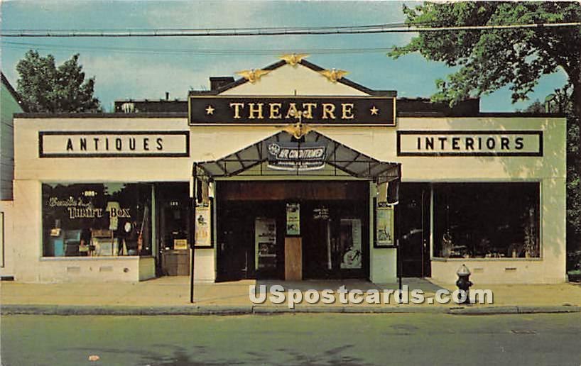 New City Island Theatre - Bronx, New York NY Postcard