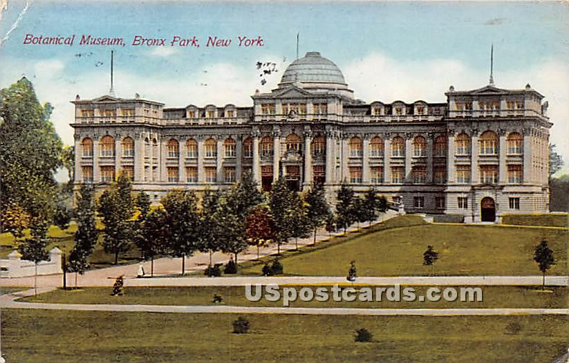 Botanical Museum - Bronx, New York NY Postcard