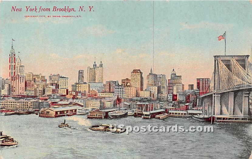 Brooklyn, New York NY Postcard