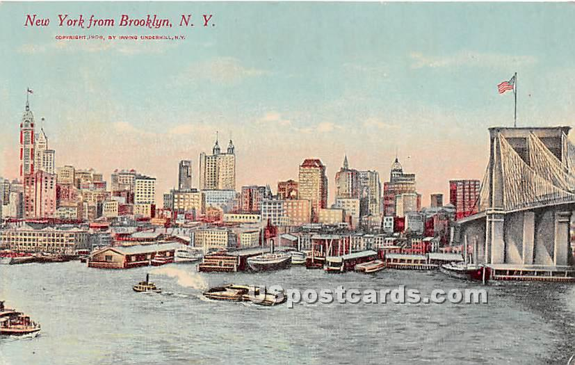 Brooklyn, New York NY Postcard