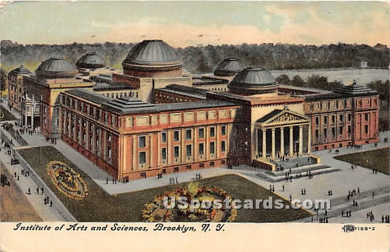 Institue of Arts & Science - Brooklyn, New York NY Postcard