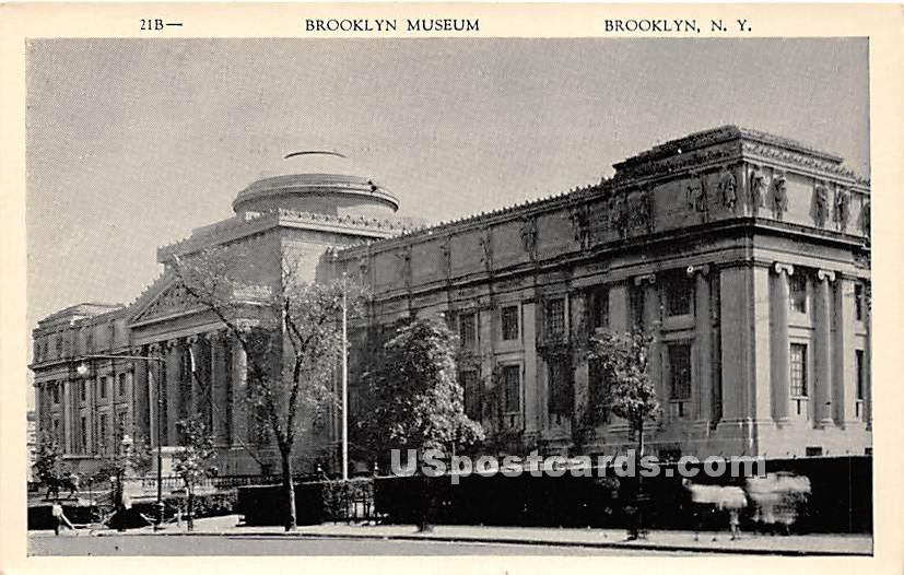 Brooklyn Museum - New York NY Postcard
