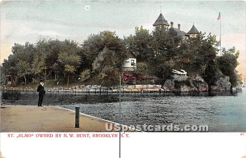 St Elmo, Owned by NW Hunt - Brooklyn, New York NY Postcard