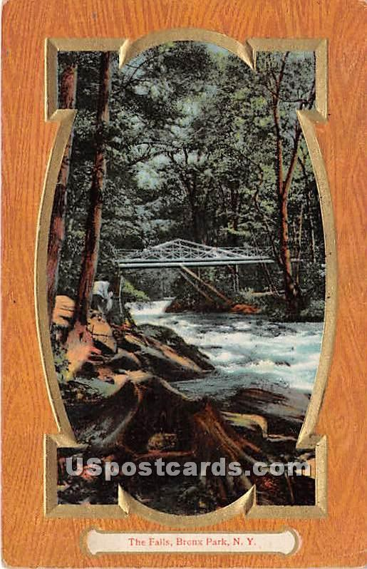 The Falls - Bronx Park, New York NY Postcard