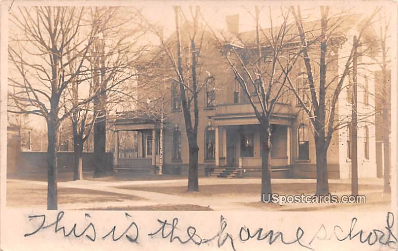 Home School - Buffalo, New York NY Postcard