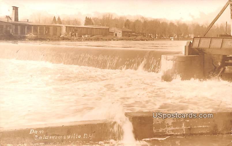 Dam - Baldwinsville, New York NY Postcard