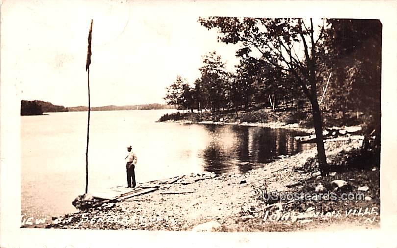Seneca River - Baldwinsville, New York NY Postcard