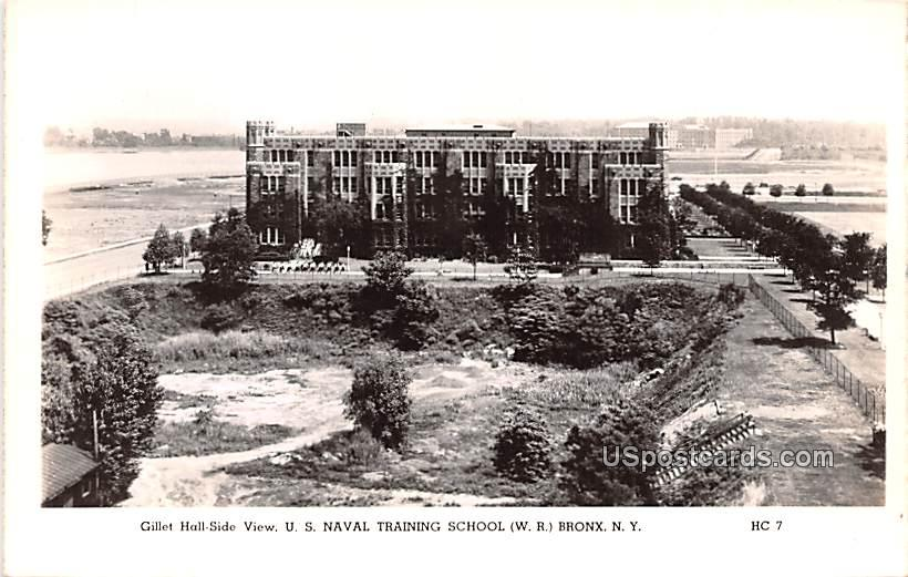 Gillet Hall Side View - Bronx, New York NY Postcard