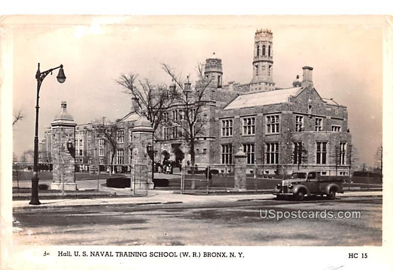 Student Hall - Bronx, New York NY Postcard