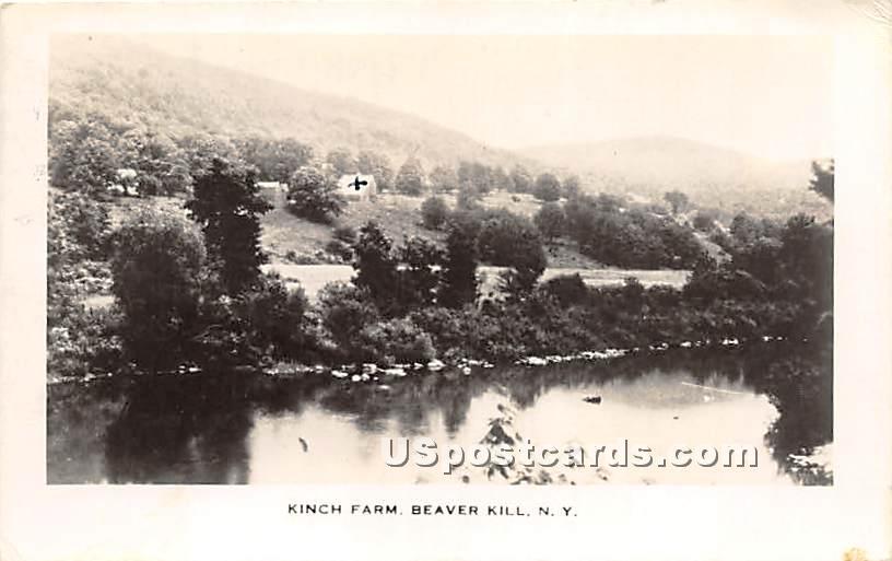 Kinch Farm - Beaverkill, New York NY Postcard