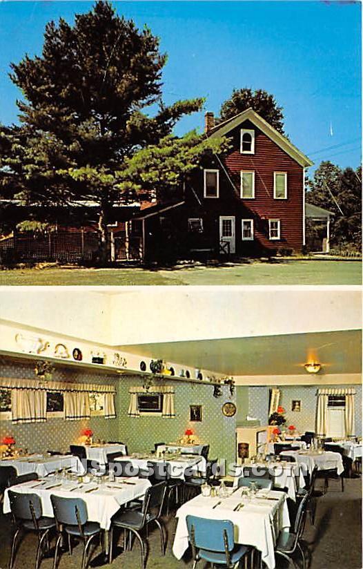 Old Homestead Restaurant - Bridgeville, New York NY Postcard