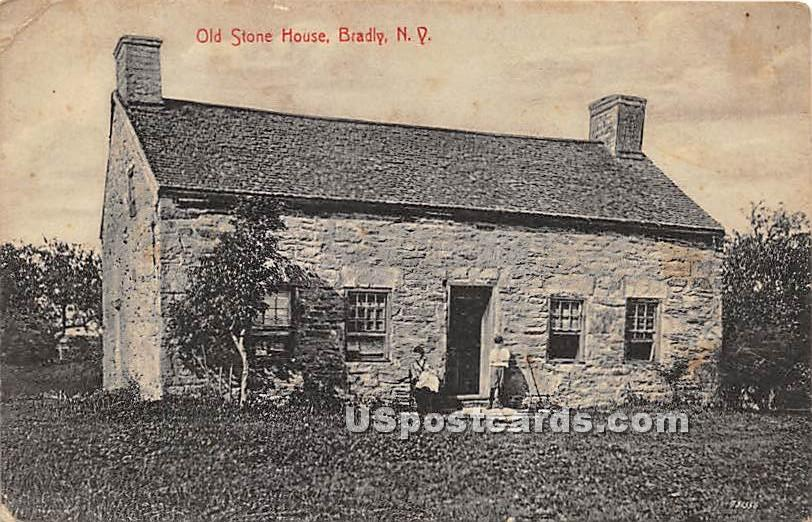Old Stone House - Bridgeville, New York NY Postcard