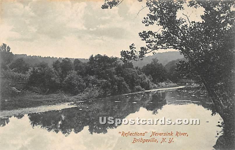 Reflections - Bridgeville, New York NY Postcard