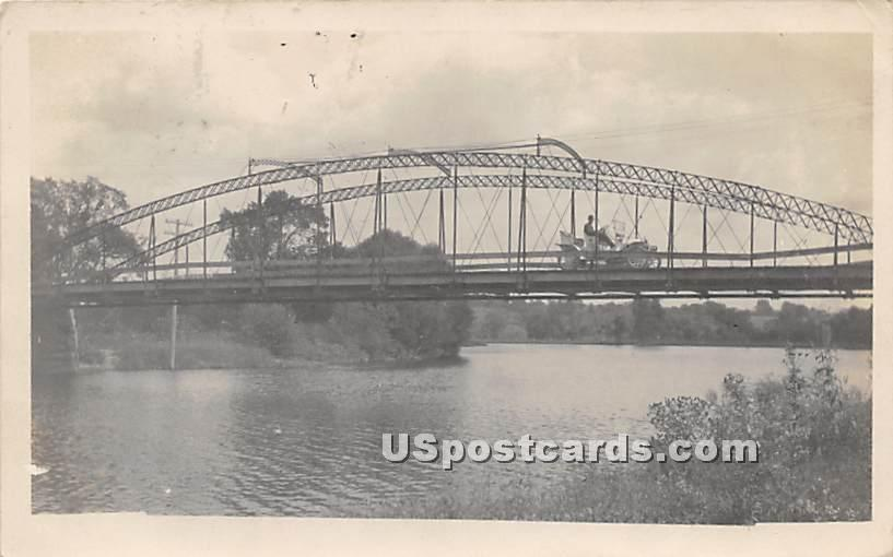Bridge - Bridgeville, New York NY Postcard