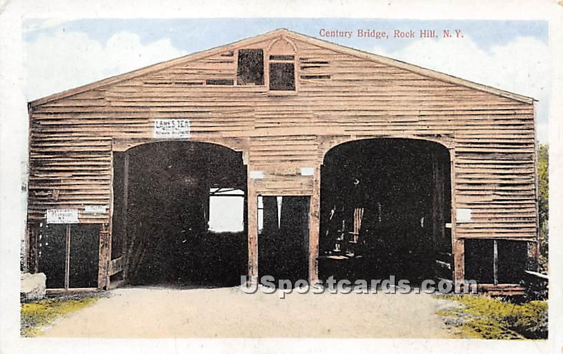 Century Bridge - Bridgeville, New York NY Postcard
