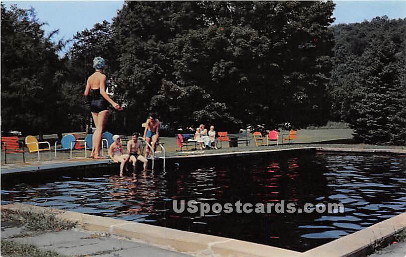 Laurel Brook Cottage - Barryville, New York NY Postcard