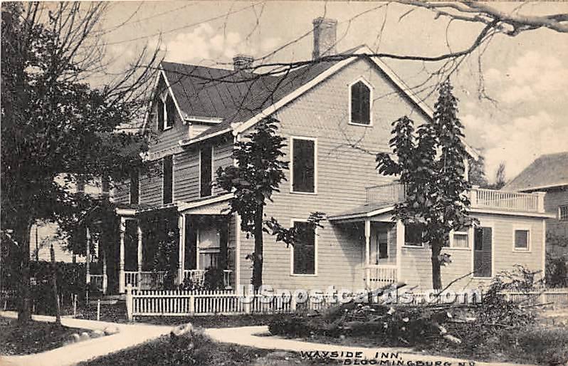 Wayside Inn - Bloomingburg, New York NY Postcard