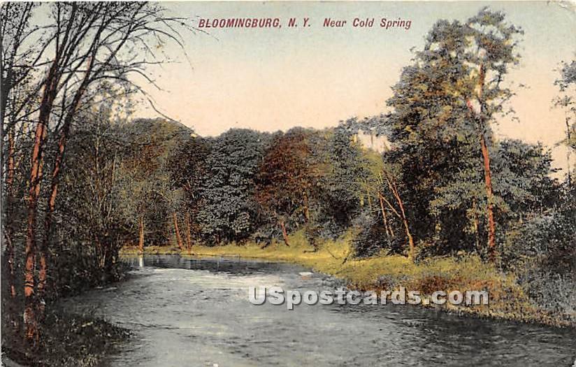 Near Cold Spring - Bloomingburg, New York NY Postcard
