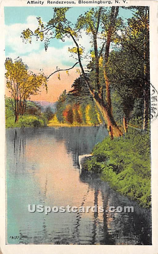 Affinity Rendezvous - Bloomingburg, New York NY Postcard