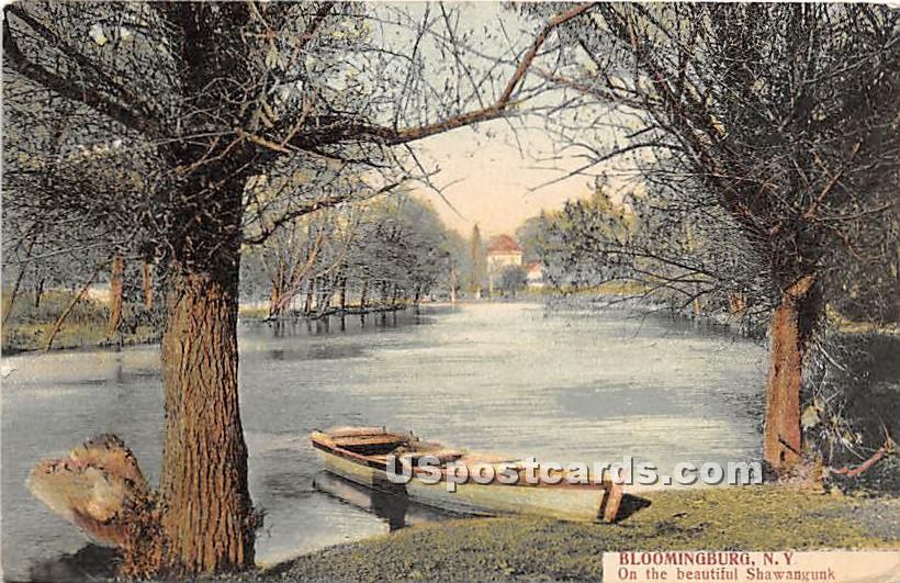 Shawangunk - Bloomingburg, New York NY Postcard