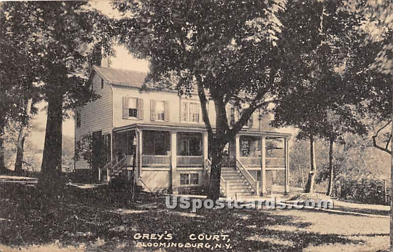 Grey's Court - Bloomingburg, New York NY Postcard