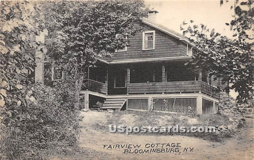 Fairview Cottage - Bloomingburg, New York NY Postcard