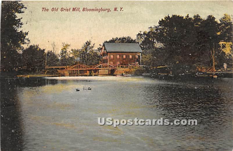 Old Grist Mill - Bloomingburg, New York NY Postcard