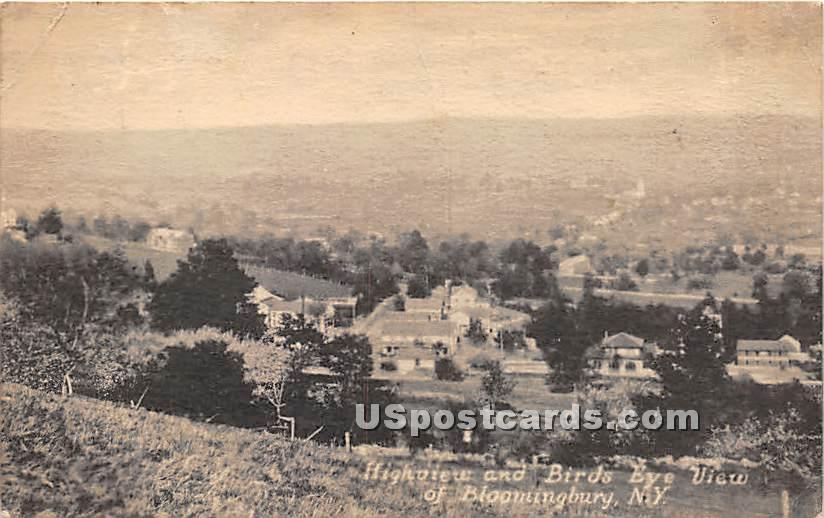 High View - Bloomingburg, New York NY Postcard