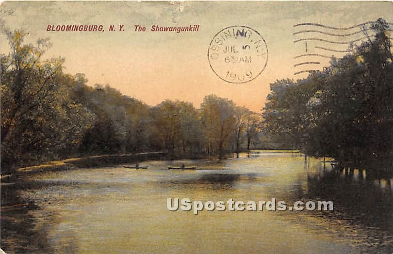 The Shawangunk Kill - Bloomingburg, New York NY Postcard
