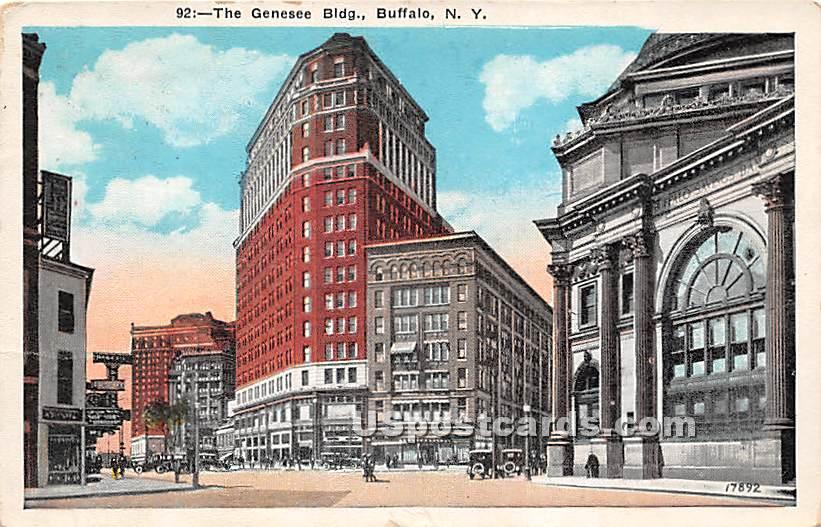 Genesee Building - Buffalo, New York NY Postcard