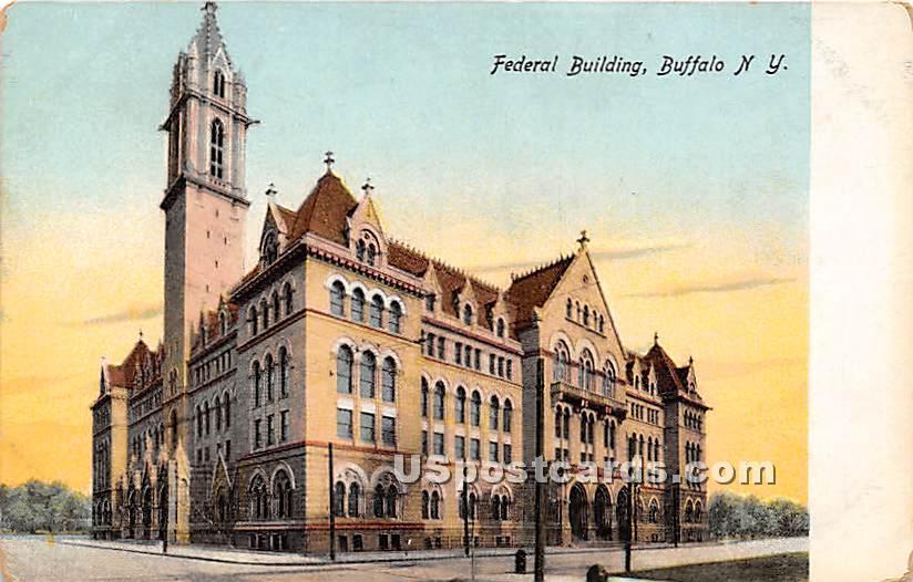 Federal Building - Buffalo, New York NY Postcard