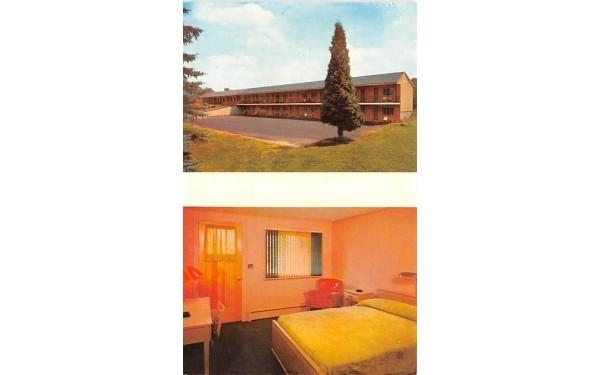 Algonkin Inn & Motel Bainbridge, New York Postcard