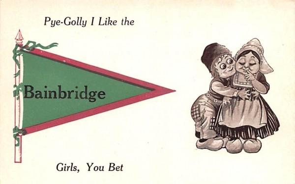 Pye-Golly I Like Bainbridge, New York Postcard