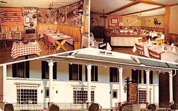 Historic Olde Jericho Tavern Bainbridge, New York Postcard