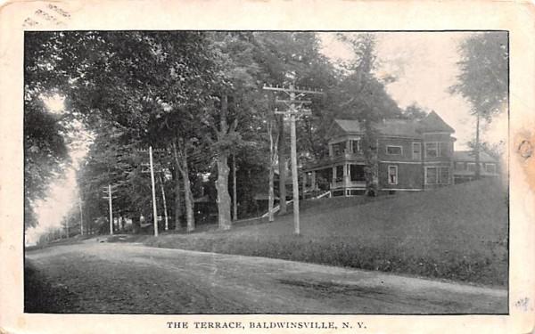 The Terrace Baldwinsville, New York Postcard
