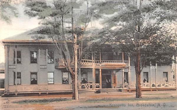 Kennyetto Inn Broadalbin, New York Postcard
