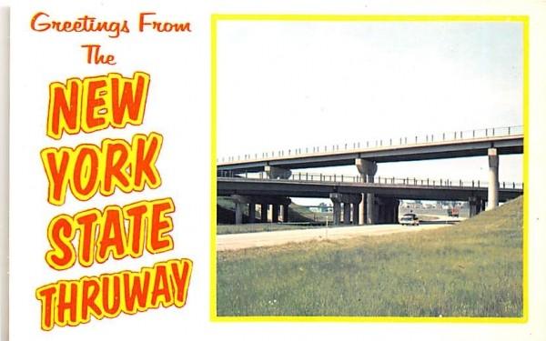 New York State Thruway Postcard