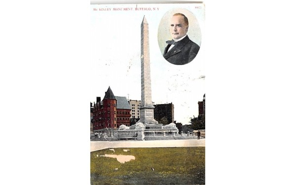 McKinely Monument Buffalo, New York Postcard