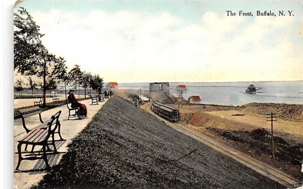 The Front Buffalo, New York Postcard