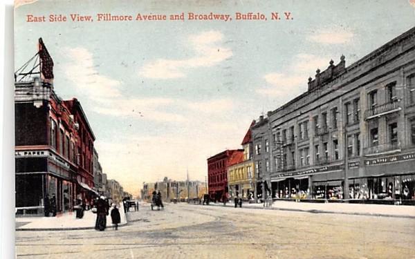 East Side View Buffalo, New York Postcard