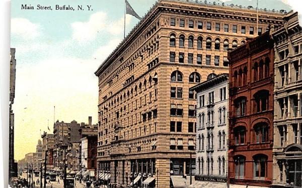 Main Street Buffalo, New York Postcard