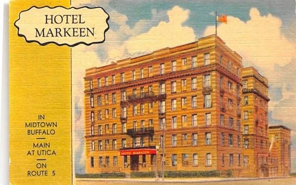 Hotel Markeen Buffalo, New York Postcard