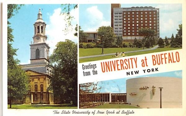 State University of New York Postcard