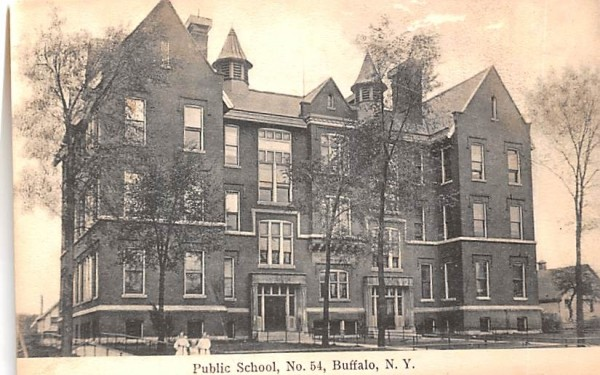 Public School No 54 Buffalo, New York Postcard