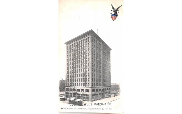 Prudential Building Buffalo, New York Postcard