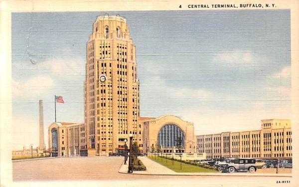 Central Terminal Buffalo, New York Postcard