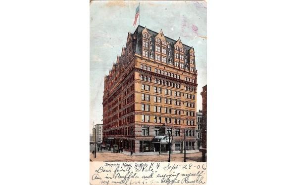 Iroquois Hotel Buffalo, New York Postcard