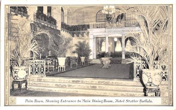 Palm Room Buffalo, New York Postcard